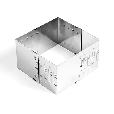 molde regulable cuadrado