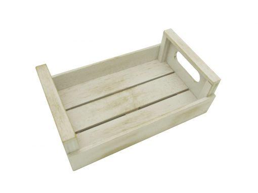 caja mini multiusos color blanco