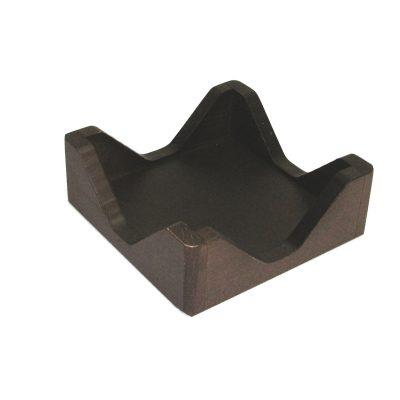 servilletero negro de diseño
