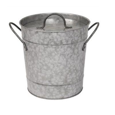Cubitera de acero galvanizado con teflón