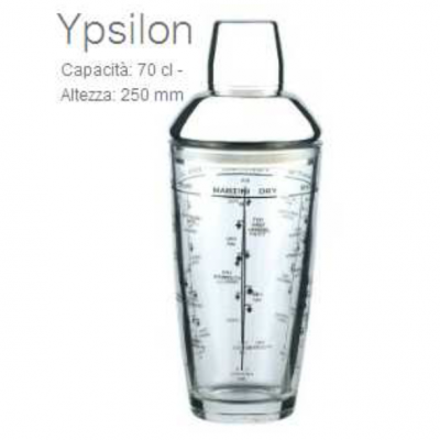 coctelera ypsilon