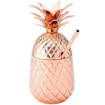 piña de cobre para cóctel