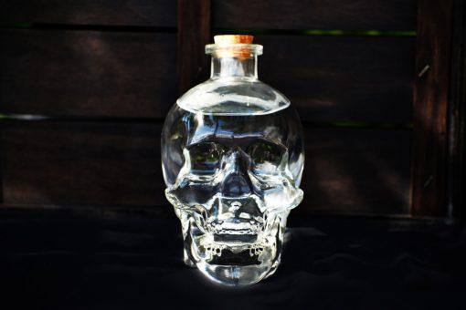 botella calavera