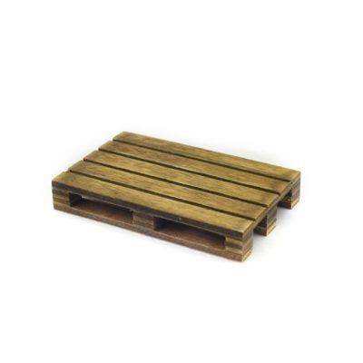 Mini palet madera natural envejecido
