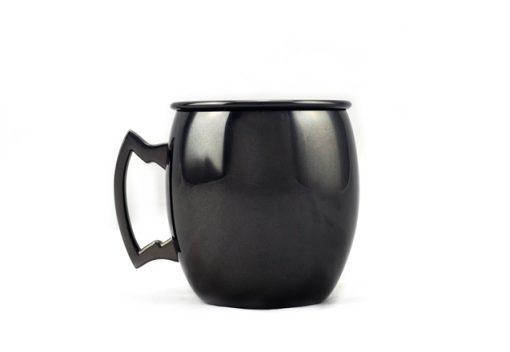 moscow mule taza lisa negra